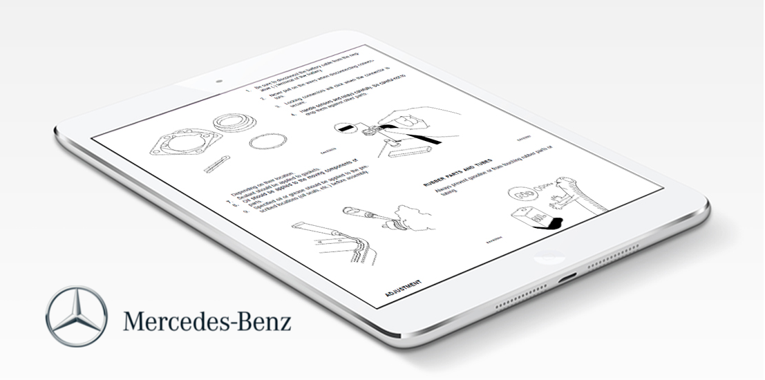 Mercedes benz repair service manual choose your for Mercedes benz online repair manual