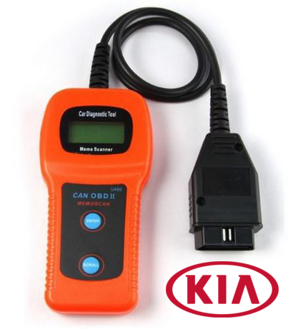 U480 OBD2 LCD Car Diagnostic Scanner Fault Code Reader